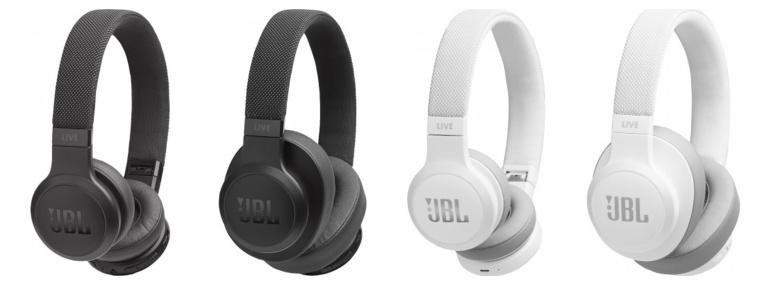 Nüüd saadaval: juhtmevabad kõrvaklapid JBL Live 400BT ja 500BT