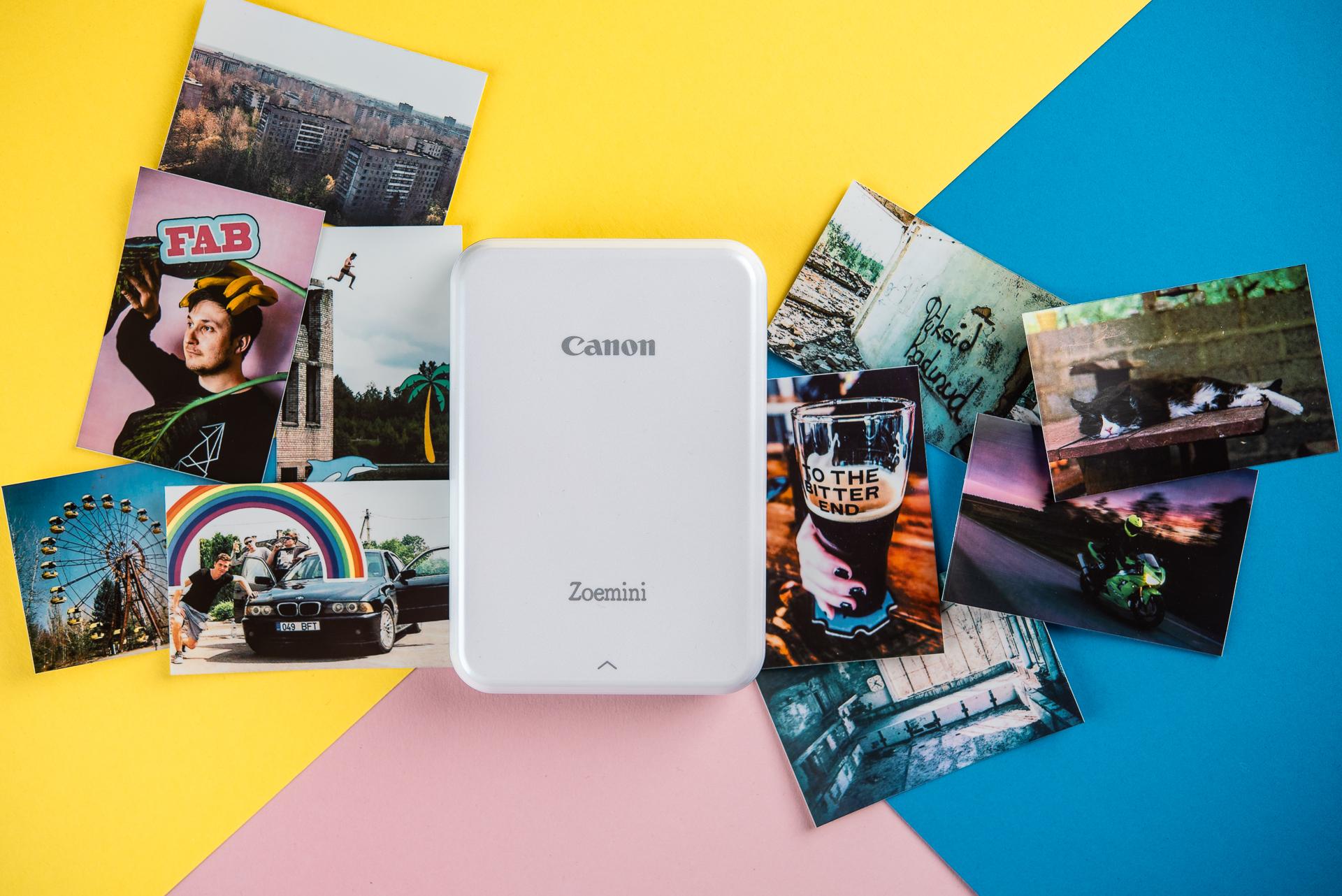 Digitest.ee: Canon Zoemini fotoprinter – Instagram otse rahakoti vahele