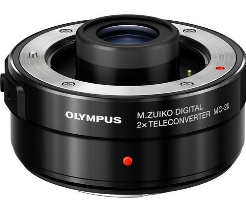 Olympuse uus M.Zuiko Digital 2x telekonverter MC-20