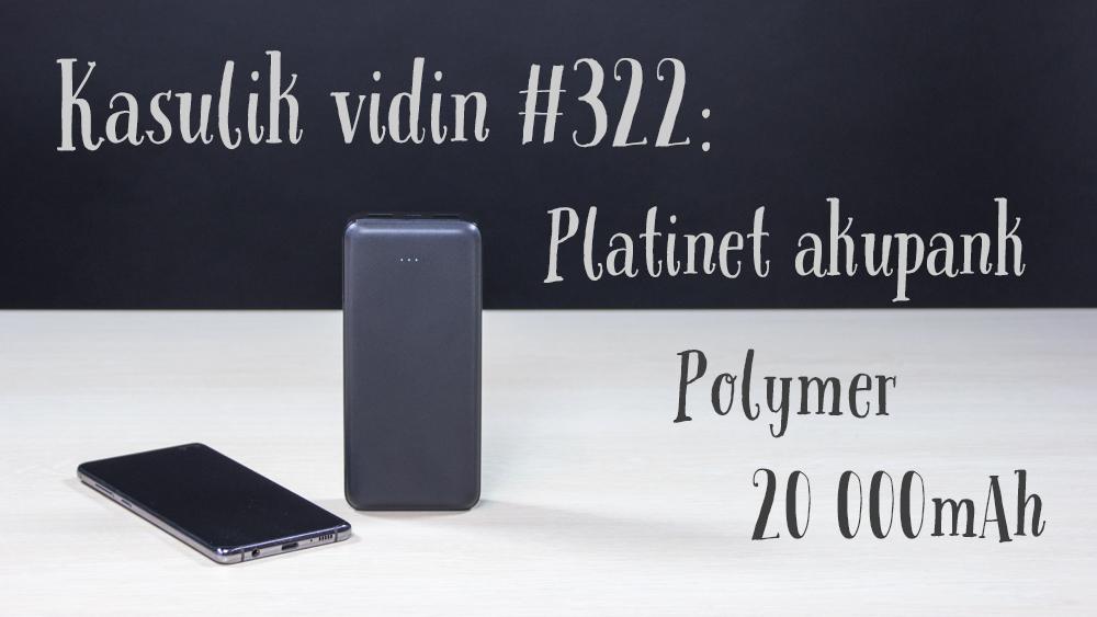 Platinet Polymer 20 000mAh akupank