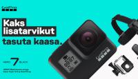 GoPro HERO7 Black ostul saad kaks funktsionaalset kingitust