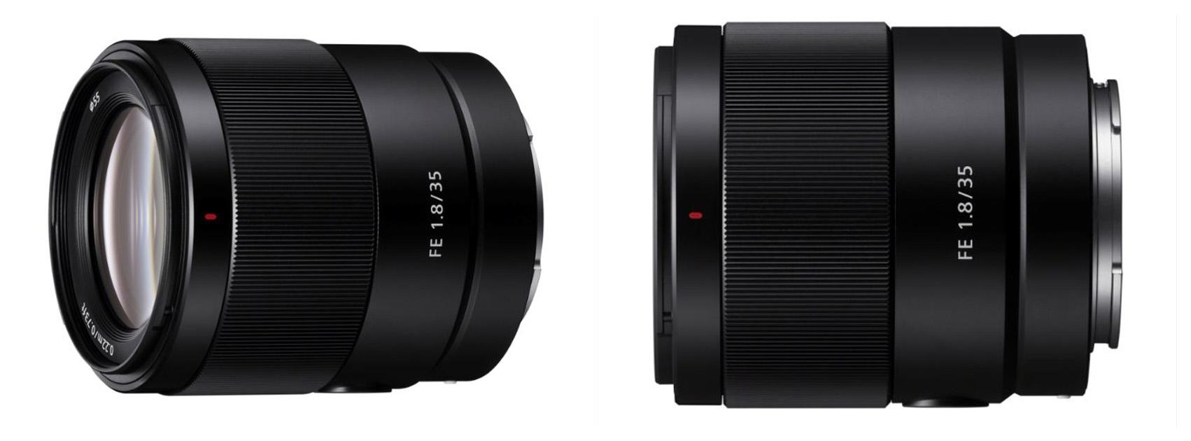 Sony toob augustis turule uue objektiivi hübriidkaameratele: FE 35mm F1.8