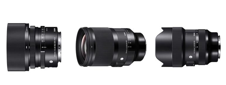 Sigma avalikustas 3 uut objektiivi hübriidkaameratele: 35mm F1.2, 45mm F2.8  ja 14-24mm F2.8