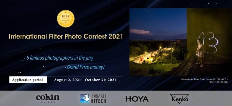 Osale rahvusvahelisel fotokonkursil: International Filter Photo Contest 2021