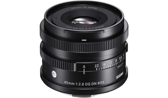 Nüüd saadaval: Sigma 45mm f/2.8 DG DN Contemporary objektiiv Sony hübriidkaameratele