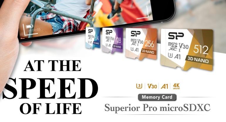 Silicon Power toob turule uue võimeka micro-SD mälukaardi