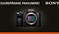 Ainult 26.11 – 03.12: osta Sony a7 III, a7R III või a7R IV ja saad 300-500€ tagasi