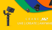 Zhiyun CRANE M2  on uus multifunktsionaalne stabilisaator
