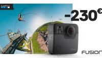 LÕPUMÜÜK: GoPro Fusion 360° kaamera on lausa 230€ odavam