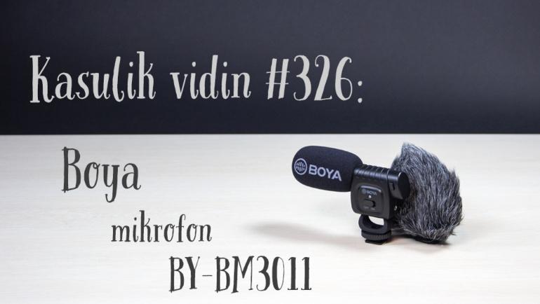 Kasulik vidin #326: Boya mikrofon BY-BM3011