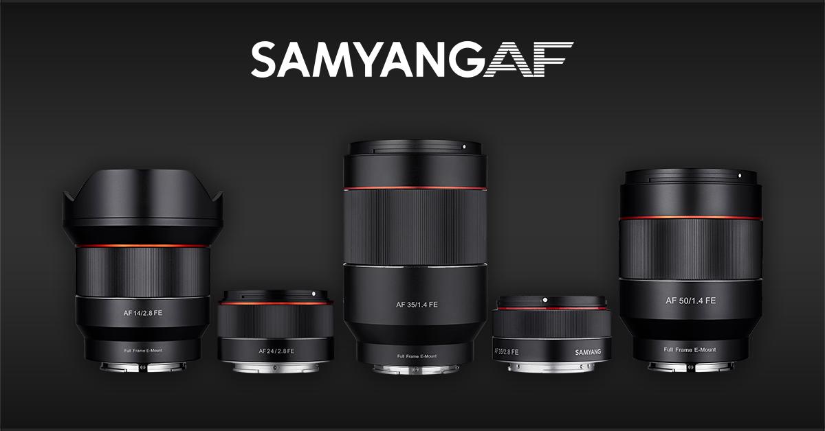Samyang AF Sony