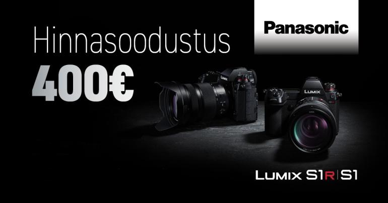 IMELINE JÕULUDIIL: Panasonic Lumix S1 ja Lumix S1R -400€ ning tasuta kaasa kaks kingitust