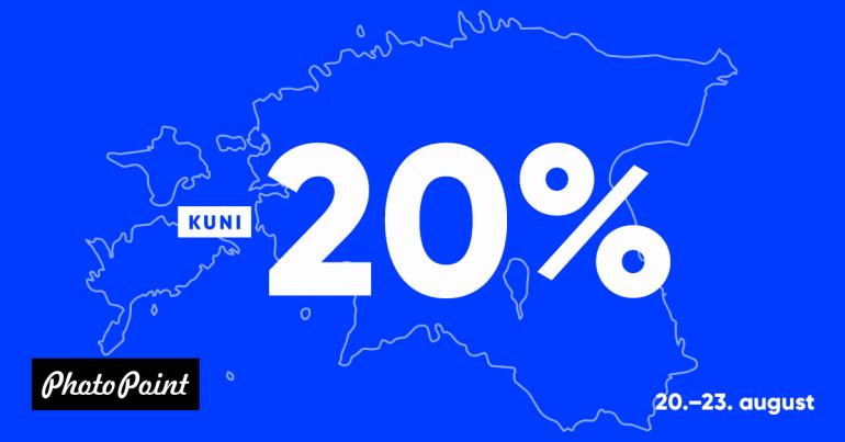 Palju õnne, Eesti! Veebikaubamajas on kõik kuni -20%