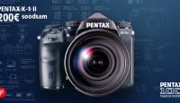 Täiskaadersensoriga Pentax K-1 II digipeegel on hetkel eriti soodne
