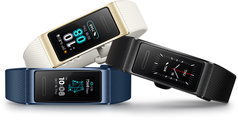 Nüüd saadaval: Uued Huawei Band 3 Pro aktiivsusmonitorid