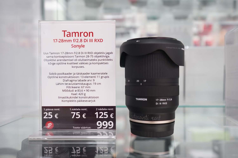 Tamron 17-28mm RXD rent