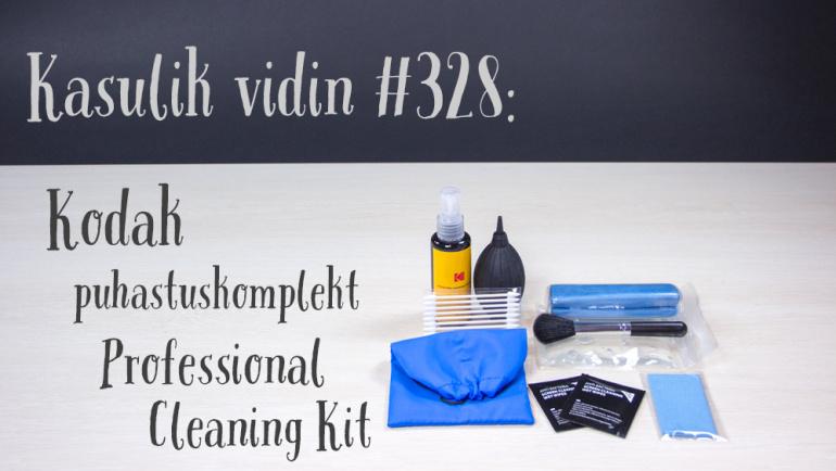 Kasulik vidin #328: Kodak puhastuskomplekt Professional Cleaning Kit