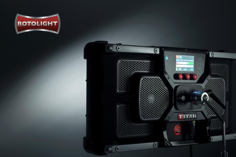 Rotolight Titan X2 – uue ajastu algus filmivõtete valgustamisel
