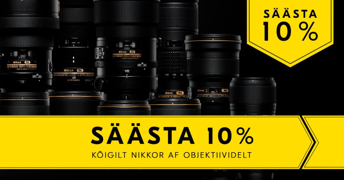 Nikon Nikkor AF objektiivide kampaania
