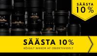 Kõik Nikon Nikkor AF-objektiivid on lisallahinnatud