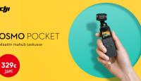 DJI Osmo Pocket kaamera on müügil hea soodushinnaga