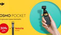 DJI Osmo Pocket on müügil soodushinnaga + kingitus väärtusega 74,99€