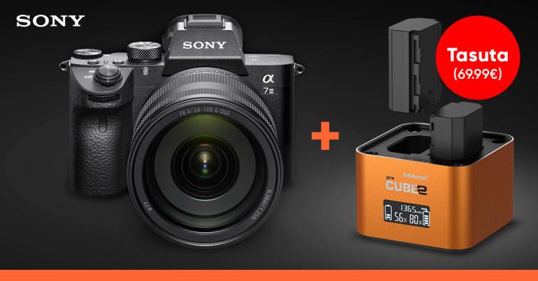 Sony a7 seeria täiskaadri ostul kaasa multifunktsionaalne kingitus