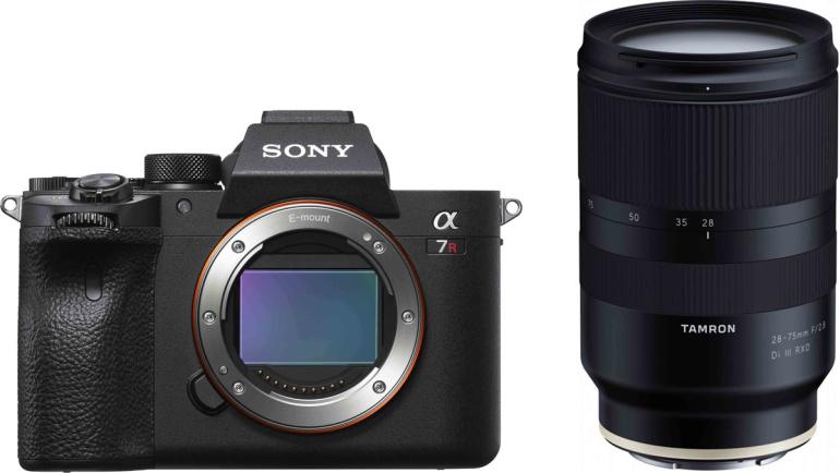 Photopoint soovitab: Sony a7R IV + Tamron 28-75mm RXD - koos on soodsam!
