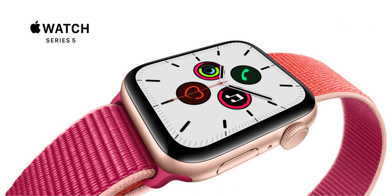 Nüüd saadaval: Apple Watch 5 nutikellad