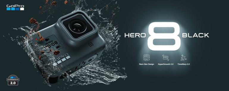 Lubage tutvustada - GoPro HERO8 Black on uus seikluskaamerate kuningas!