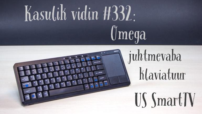 Kasulik vidin #332: Omega juhtmevaba klaviatuur US SmartTV