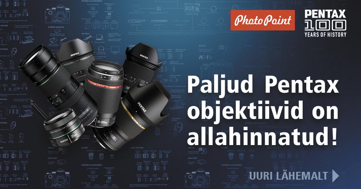 Pentax objektiivid