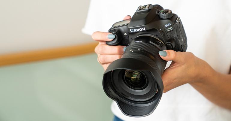 Photopoint soovitab: Canon EOS 80D + Tamron sooduskomplektid