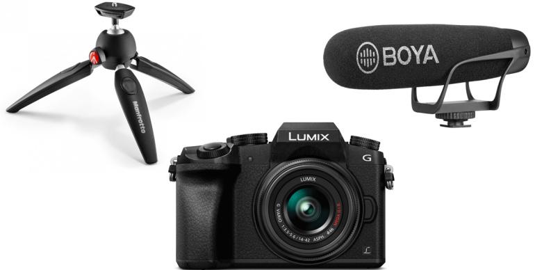 Suurepärane alustava vloggeri stardipakett: Panasonic Lumix G7 YouTuber Kit