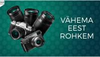 Osta valitud Fujifilm hübriidkaamera või objektiiv ja saad Fujifilmilt kuni 600€ tagasi