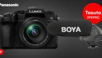 KAMPAANIA: Panasonic Lumix G90 - ühe kaamera abil korraga ideaalsed fotod ja videod