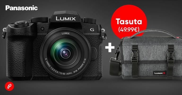 KAMPAANIA: Panasonic Lumix G90 ostul saad kingituseks mugava õlakoti