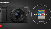 Panasonic Lumix GX80 hübriidkaamera on müügil soodushinnaga + kingituseks kiire mälukaart