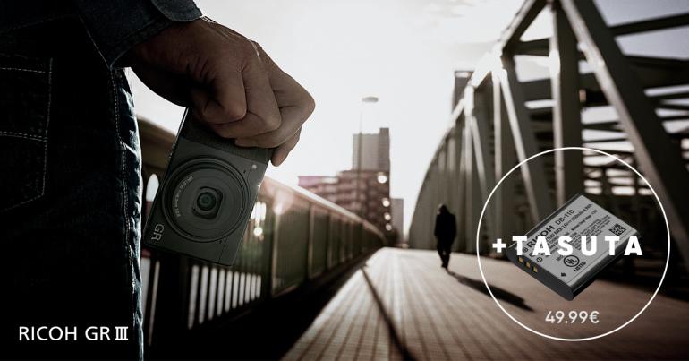 Populaarse Ricoh GR III taskukaamera ostul saad kingituseks lisaaku