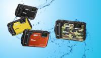 Veekindel Nikon Coolpix W300 kompaktkaamera on kuni 15.01.2020 müügil soodushinnaga