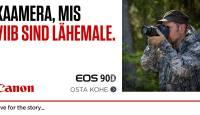 SUPERDIIL: Canon EOS 90D peegelkaamera saad 300-599€ soodsamalt kätte