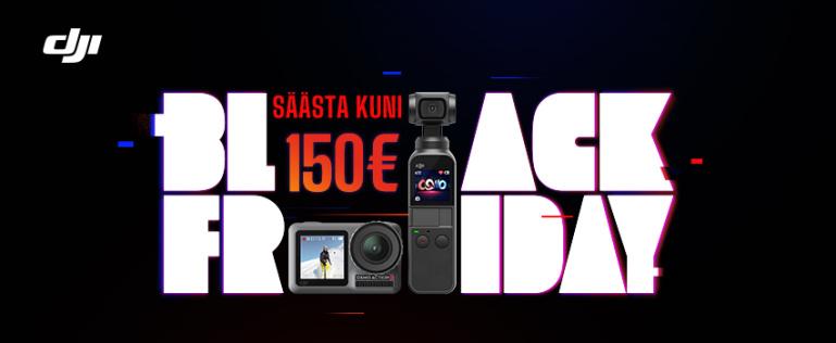 #blackfriday: valitud DJI toodete ostul säästad kuni 150€
