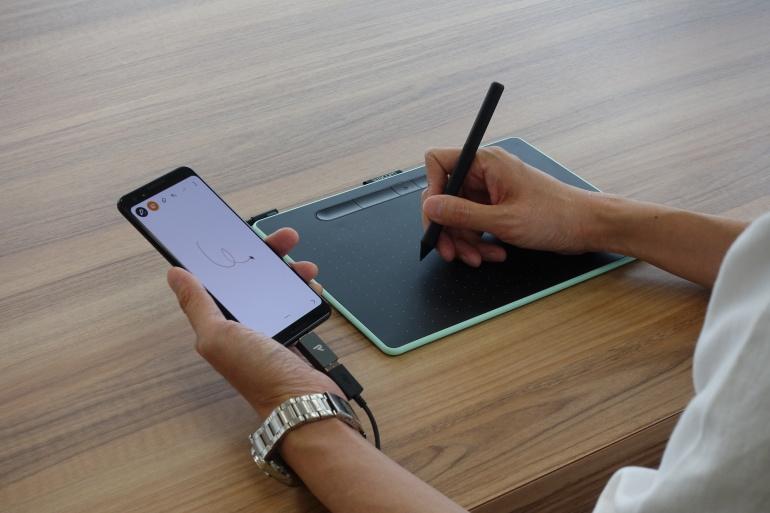 Wacom Intuos seeria graafikalaudu saab nüüd kasutada ka Android nutiseadmetega