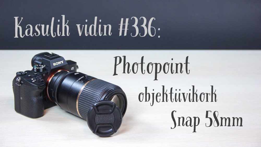 Photopoint objektiivikork Snap 58mm