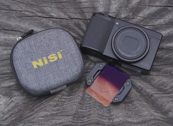NiSi tõi turule filtrihoidja ja filtrikomplektid Ricoh GR III kompaktkaamerale