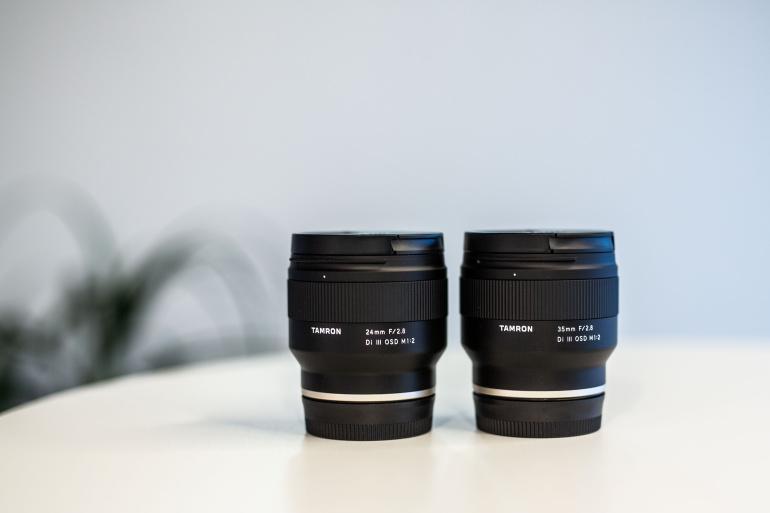 Esmamuljed Tamron 24mm ja 35mm fiksobjektiividest Sony täiskaader hübriidkaameratele