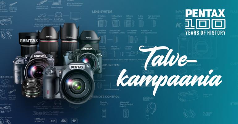 TALVEKAMPAANIA: Pentax peegelkaameratel ja objektiividel on hinnad all kuni 11.01.2020