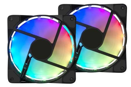Speedlink MXY LED rgb arvutikorpuse ventilaatorid