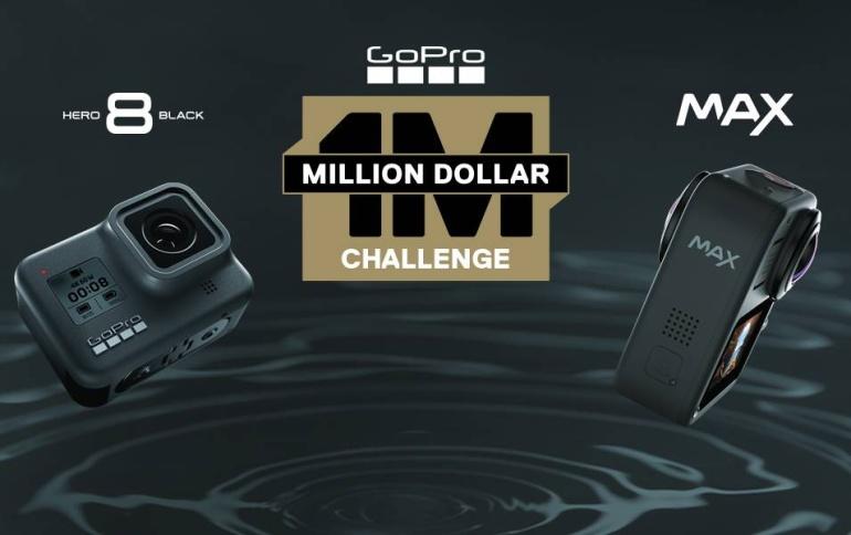 Võta osa GoPro väljakutsest ja võid saada osakese ühest miljonist dollarist