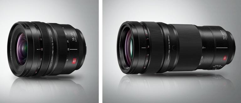 Panasonic toob turule kaks uut Lumix S Pro objektiivi L-bajonetile: 70-200mm f/2.8 ja 16-35mm f/4